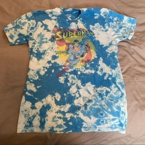 Superman Graphic Bleached Tee